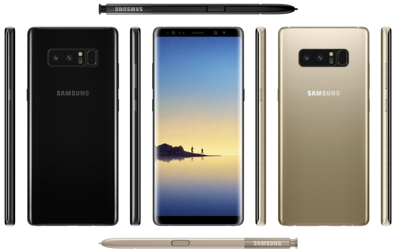 Nowy Galaxy Note 8