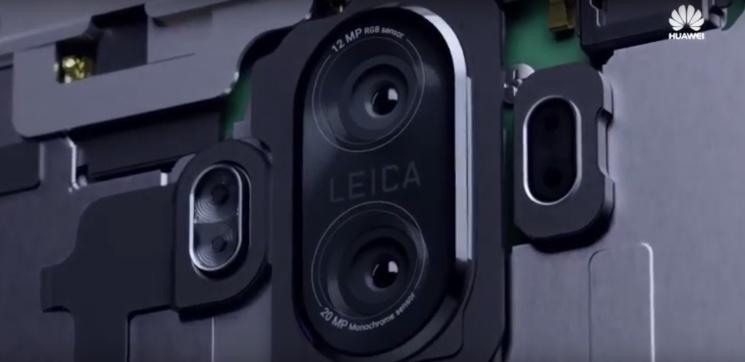 Huawei Mate 10 aparaty
