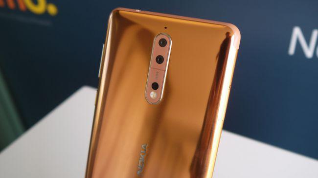 Nokia 8 gold