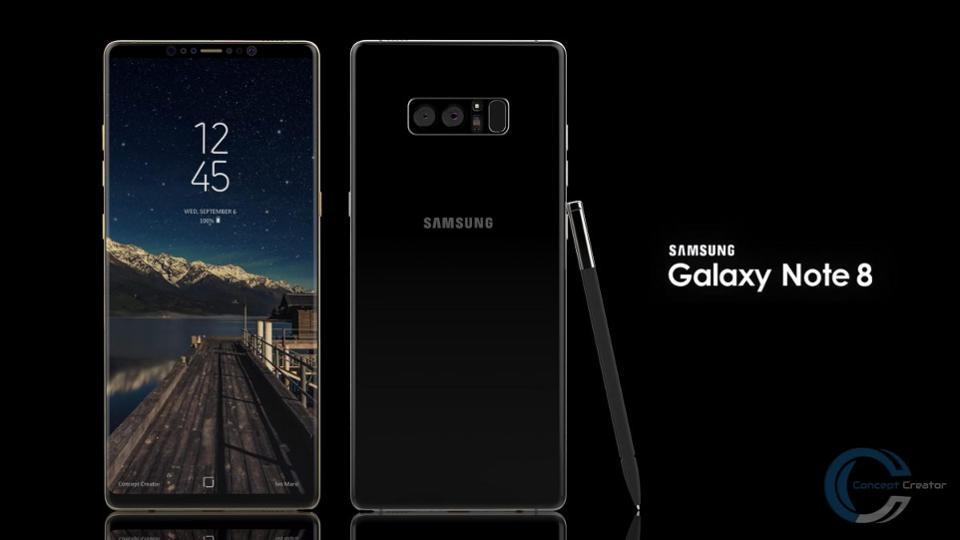 Galaxy Note 8 concept art