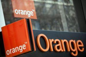 Logo Orange na kartę