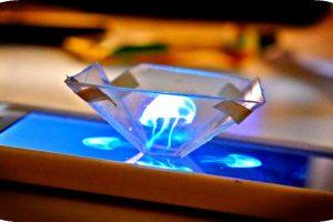 smartfon z hologramem