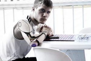 Pół-robot pół-człowiek