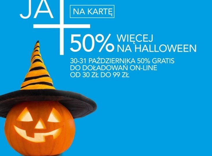 Halloween w Plusie i bonus do ofert na kartę