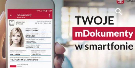Aplikacja mObywatel od Ministerstwa Cyfryzacji