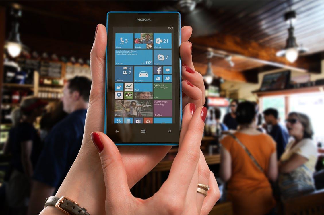 Nokia Lumia mobilny Windows