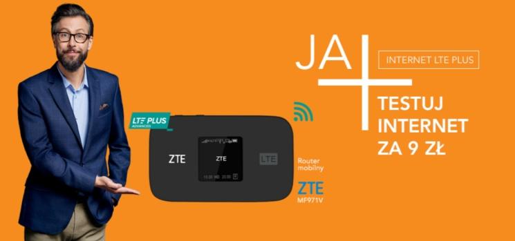 60 dni na przetestowanie internetu LTE Plus