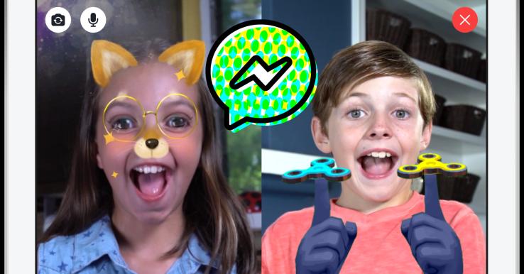 Messenger Kids filtry