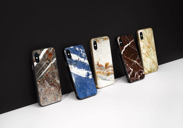 iPhone X ciosany z kamienia