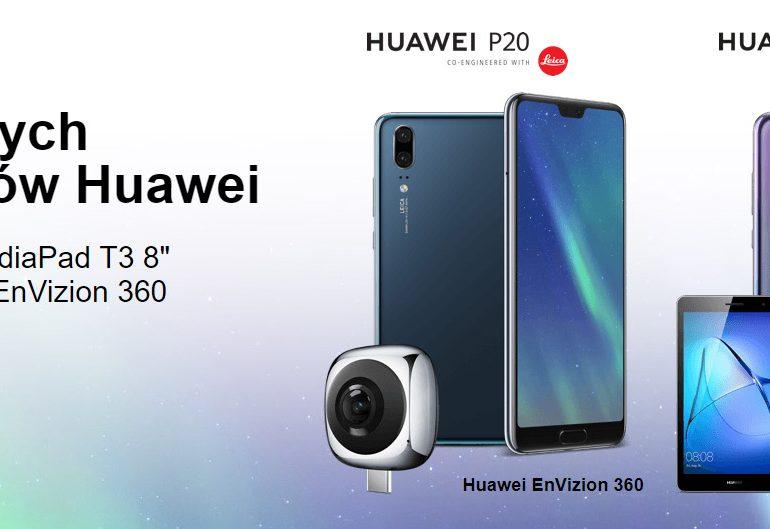 Huawei P20 i P20 Pro - zobacz za ile w Orange!