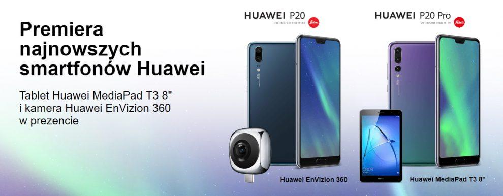 Huawei P20 i P20 Pro