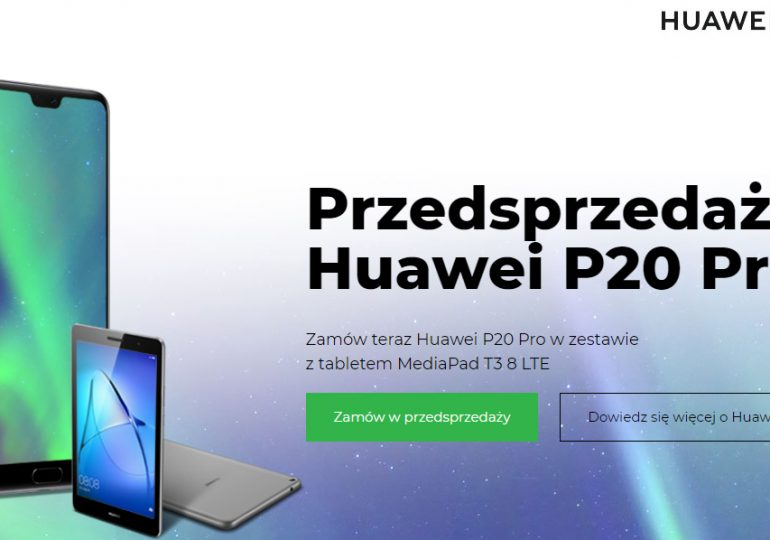 Huawei P20 Pro - za ile daje go Plus?