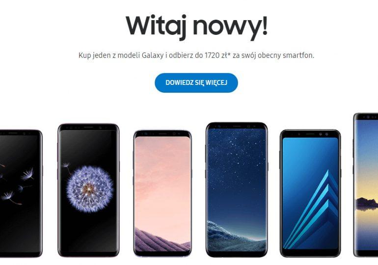 """""""Witaj nowy"""" - Promocja Samsunga"""