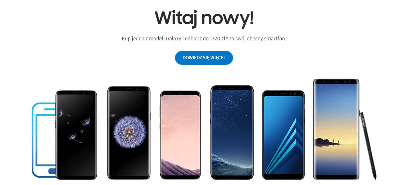 Witaj nowy - Samsung