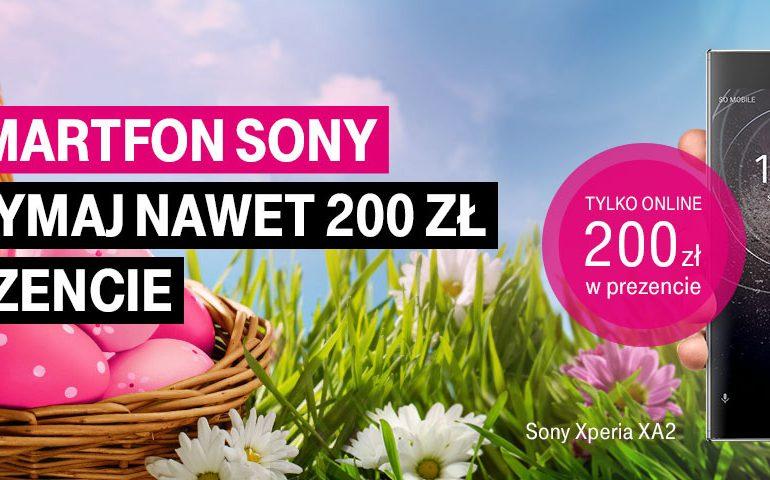 Promocja w T-Mobile! - 200 zł za zakup Sony Xperia!