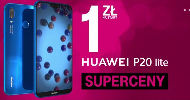 Huawei P20 Lite już od 1 zł w T-Mobile!