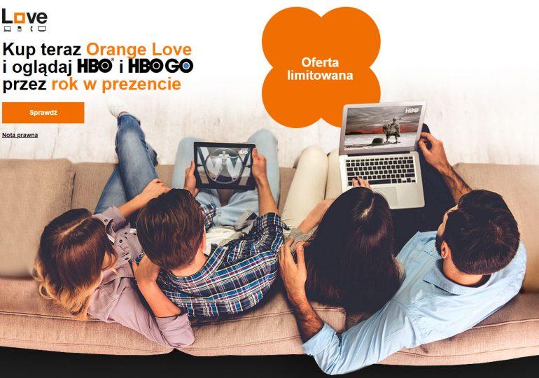 W Orange Love HBO i HBO GO przez rok w prezencie!
