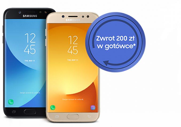 Plus zwraca 200 zł za zakup Samsungów!