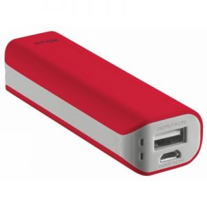 Powerbank TRUST URBAN Primo 2200mAh Czerwony