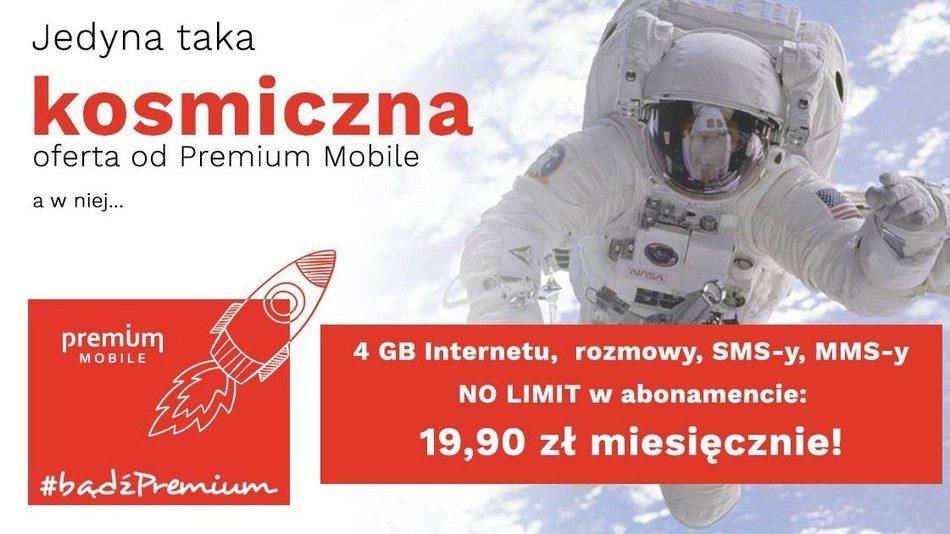 Premium Mobile taryfy