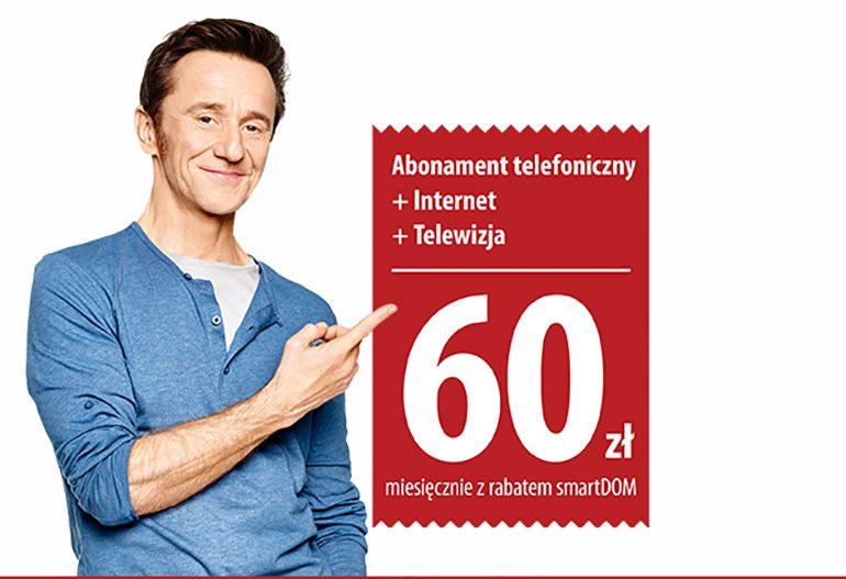 SmartDOM w Plusie - mix usług od 60 zł za miesiąc