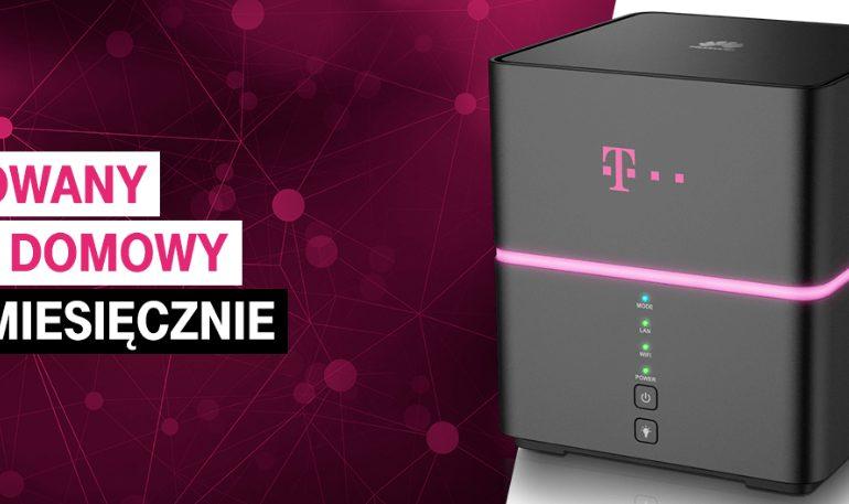 Nielimitowany internet domowy od 49 zł w T-Mobile?