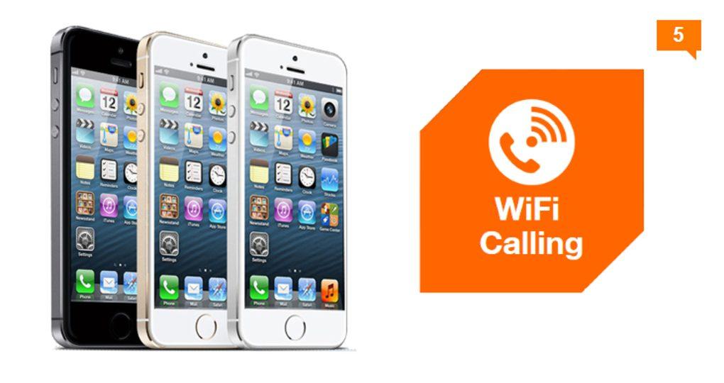 iPhone 5S też może korzystać z WiFi Calling w Orange!