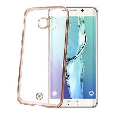 Etui na smartfon CELLY Laser Cover do Samsung Galaxy S6 Edge Plus Złoty BCLS6EPGD