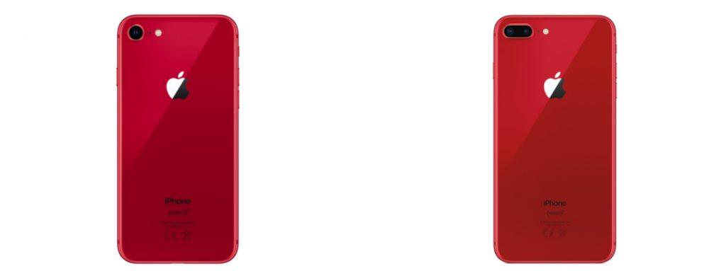 czerwony iPhone 8 i 8 Plus 2