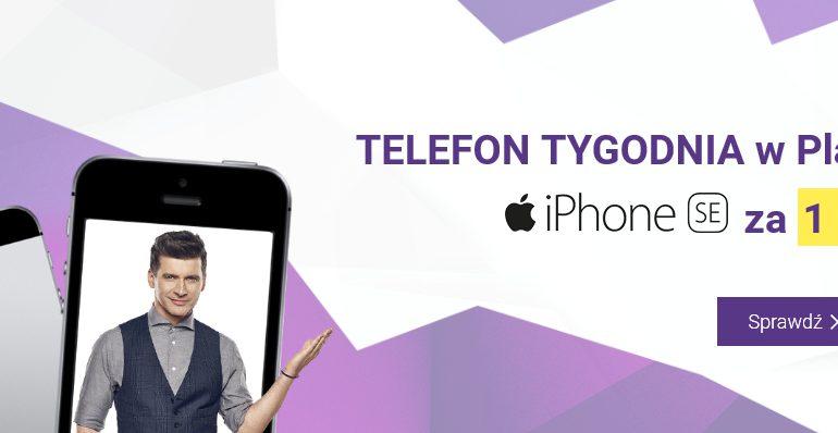 iPhone SE 32 GB - nowy telefon tygodnia w Play!