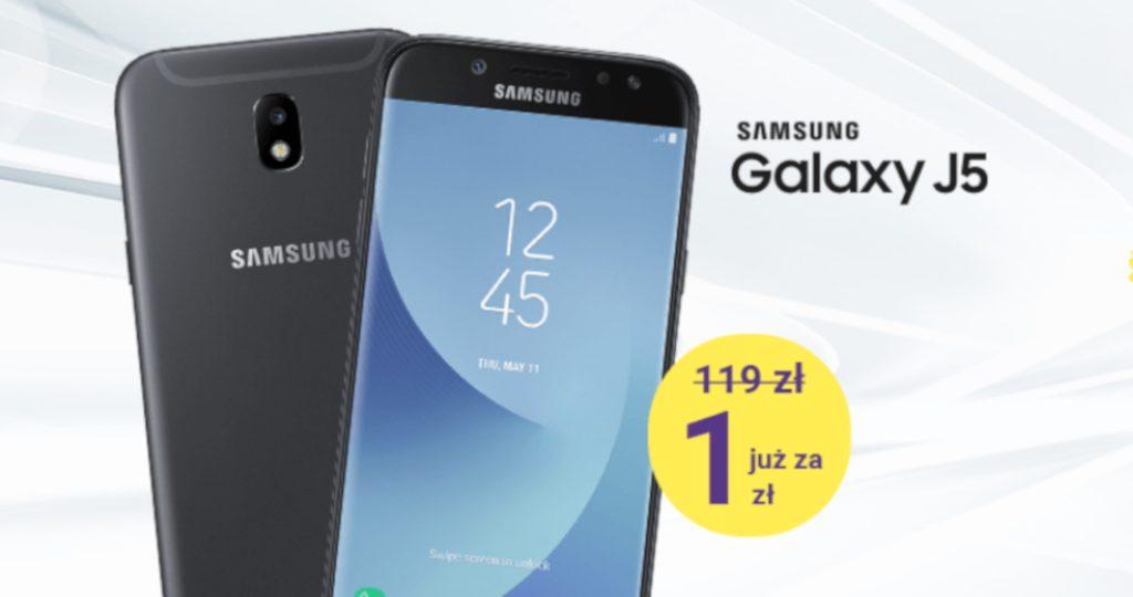 Galaxy J5 od 1 zł, czyli łap okazje w Play!