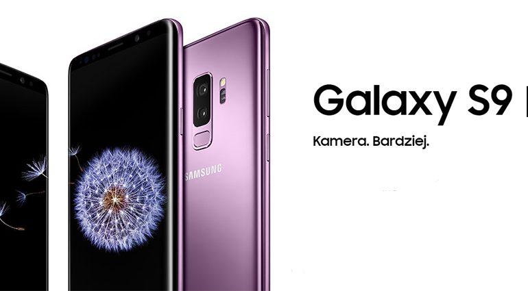 Kup Galaxy S9 lub Galaxy S9+ i odbierz nawet 2000 zł!
