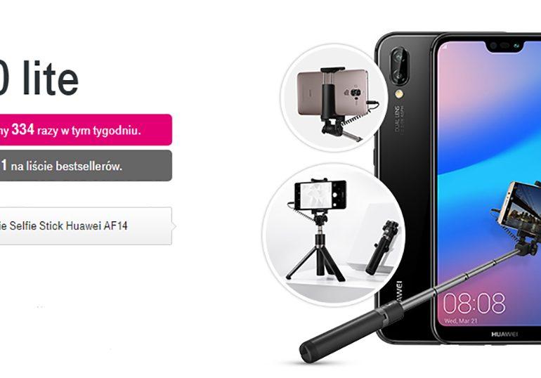 Huawei P20 lite i Selfie Stick w zestawie w T-Mobile