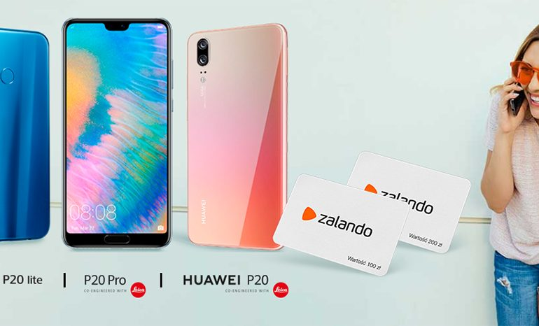 Huawei P20 w Orange z prezentem
