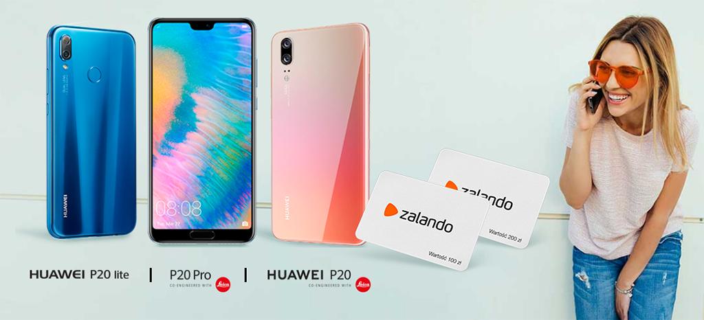 Huawei P20 w Orange