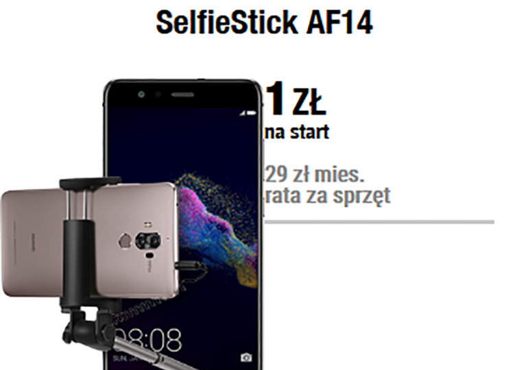 Plush proponuje: Huawei P9 Lite (2017) + SelfieStick!