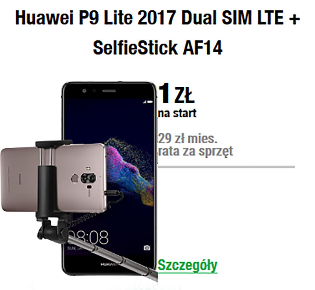 Huawei P9 Lite (2017) + SelfieStick
