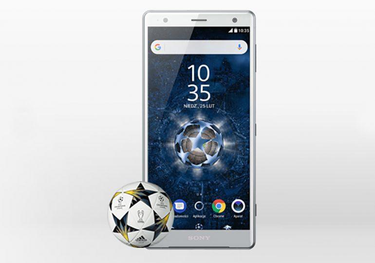 Sony Xperia XZ2 + piłka UEFA - do wzięcia w Plusie!