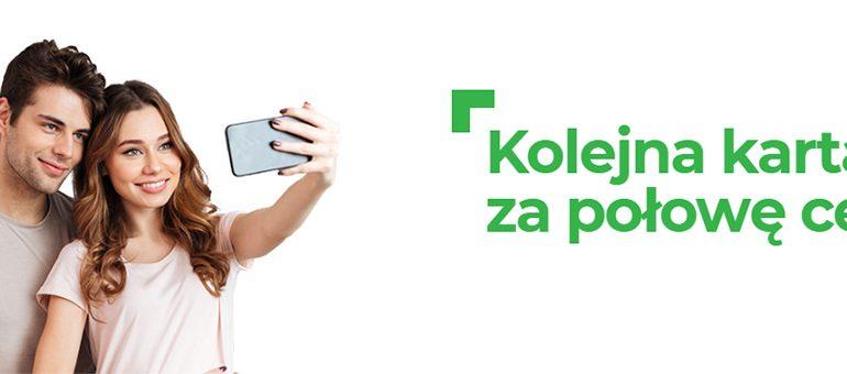 Super promocja w Plusie - kolejna karta za połowę ceny