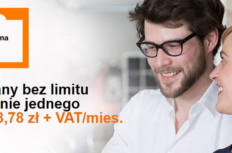 Promocja dla firm w Orange - 2 plany bez limitu w cenie 1