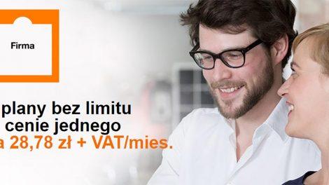 promocja dla firm w Orange