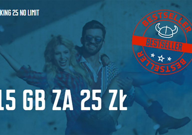 No Limit i 15 GB za 25 zł w Mobile Vikings