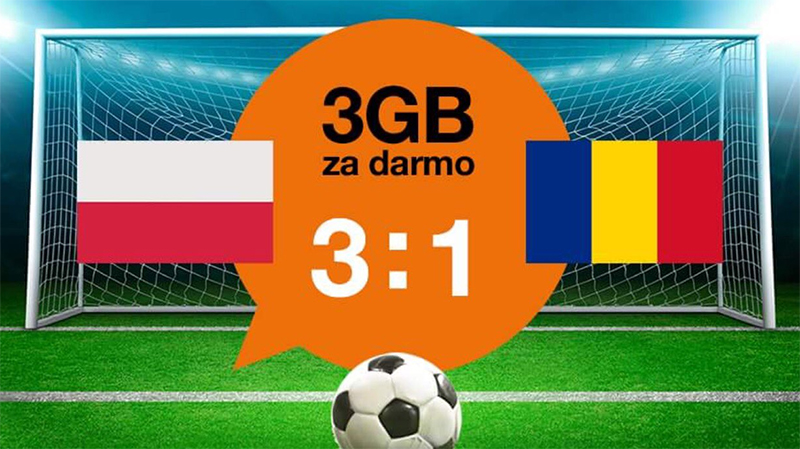 3 GB od Orange i bonus weekendowy