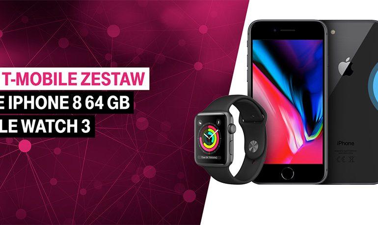 Apple Watch 3 w zestawie jest już dostępny w T-Mobile