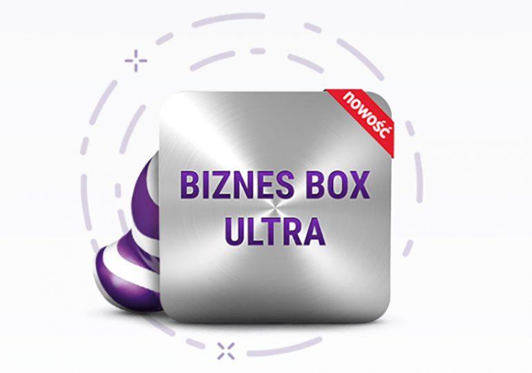 Biznes Box Ultra - nowa taryfa dla firm z szybkim internetem w Play