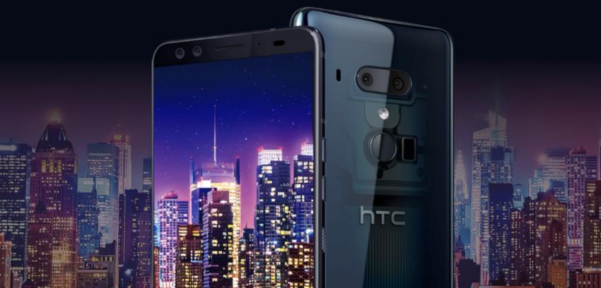 HTC U12+ przezroczysty