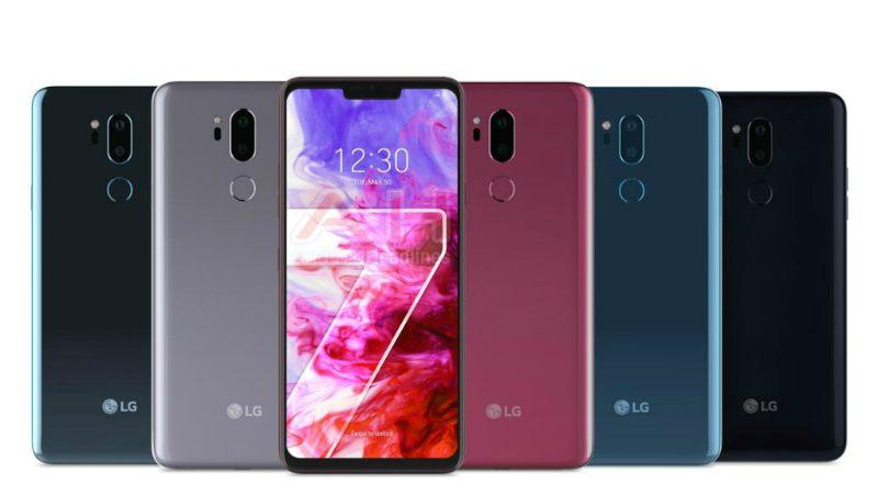 LG G7 ThinQ w Orange foto