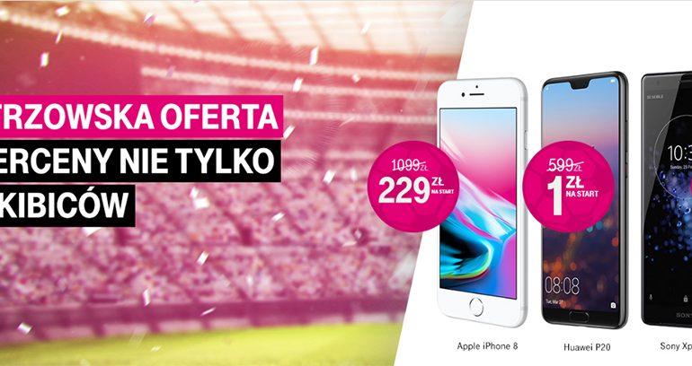 Mistrzowska Oferta w T-Mobile, czyli smartfony w supercenach