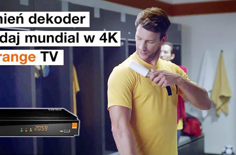 Wymień dekoder i oglądaj Mundial w jakości 4K w Orange TV