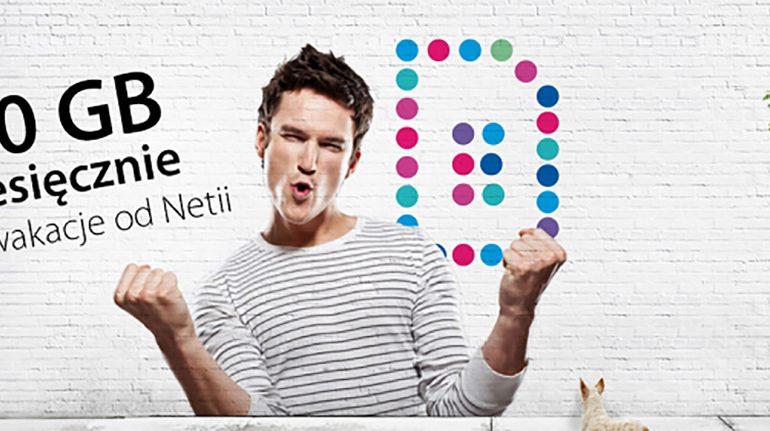 Słyszeliście już o Netia Mobile i bonusie 100 GB na wakacje?